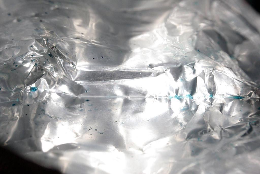 "Blick in die Verpackung des ""neuen"" Druckkopfes"