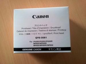 Versiegelte Verpackung eines neuen CANON Original-Druckkopfes