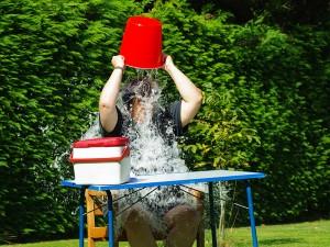 ALS Ice Bucket Challenge - Kerstin Thieler